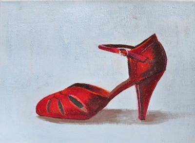 El zapato rojo